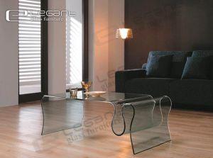 2013 elefante bent glass coffee table cristal muebles for Muebles elefante