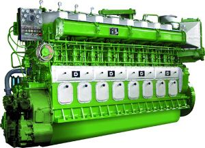 Двигатель дизеля 425rmp Avespeed Ga6300 735kw-1618kw низкоскоростной морской корабля