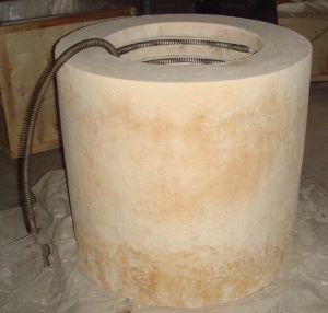 Horno el ctrico de la resistencia da alta temperatura de for Horno ceramica precio