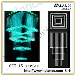 Licht van de Vezel van de Kroonluchter van het plafond het Optische voor Decoratief