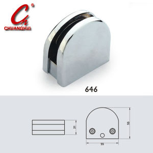 ハードウェア亜鉛合金ガラスブラケットクリップ(9505)