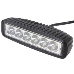 18W Mini ATV LED lumière barre de travail, Offroad Lampe