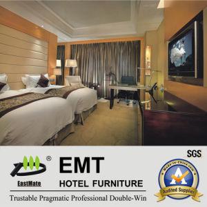 Ensemble de chambre à coucher en bois d'hôtel de fabrication de première classe (EMT-B1204)
