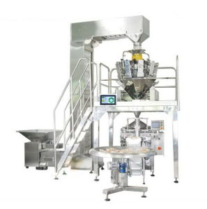 Spuntino Packing Machine con Multihead Weigher