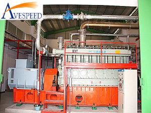 комплект Genarator газа 264kw-957kw Avespeed/Guascor