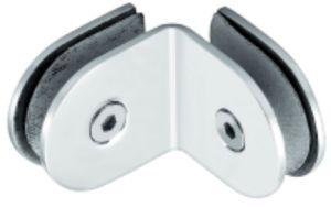 Conetor de vidro do painel do chuveiro do aço inoxidável de 90 graus (FS-512)
