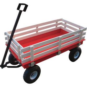 Carro de madera de la herramienta de jard n carro de for Carritos de madera para jardin