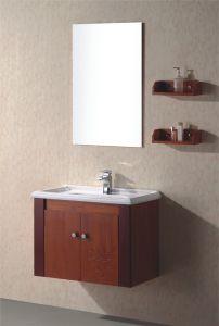 カシの浴室の虚栄心のキャビネット(813)