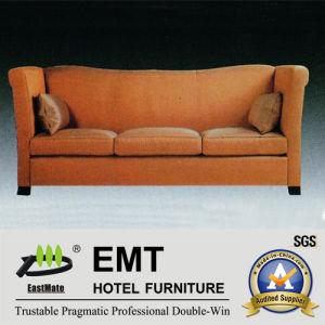 Le sofa intéressant et confortable d'hôtel a placé (EMT-SF43)