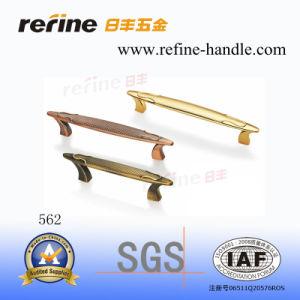 Poignée en alliage de zinc de traction de matériel de meubles (Z-562)