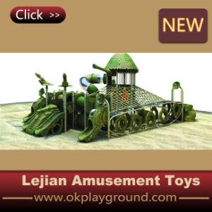 Extérieure animatronique Dinosaur Playground escalade Équipement