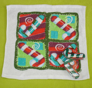 Natale Compressed Towel con Cratch Design (YT-680)