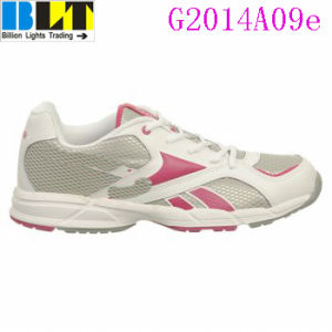 Sapatas atléticas do estilo da sapatilha da menina de Blt