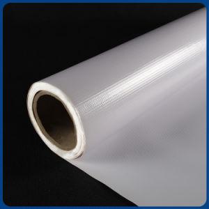 Bandeira do cabo flexível do PVC Frontlit do material do rolo para a impressão solvente de Eco