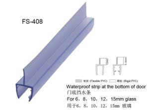 Selos do PVC do chuveiro para a parte inferior da porta de vidro (FS-408)