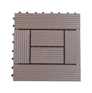 DIY WPC Decking Tile/plataforma de Square WPC (30*30*2.3cm)