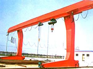 Grúa de pórtico/grúa de pórtico montada sobre carriles/grúa de pórtico doble de la suspensión de la viga