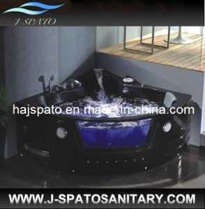 Vasca da bagno nera d 39 angolo di lusso della jacuzzi di doubai js 8001b vasca da bagno nera d - Vasca da bagno nera ...