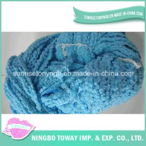 Alta Resistência de malha cachecol de lã de algodão Fios fantasia