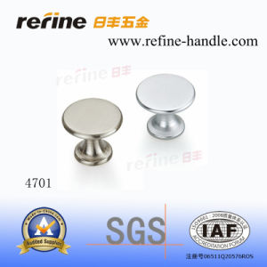 Bouton en aluminium de meubles avec la qualité principale (L-4701)