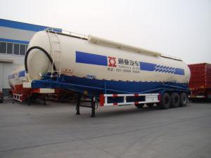 Semi Aanhangwagen van de Tank van het Vervoer van het Poeder van de lage Dichtheid de Materiële