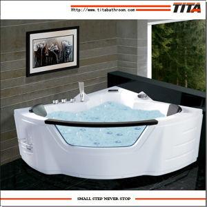 Vasca da bagno acrilica di vendita calda Tmb108 di massaggio 2015 – Vasca da bagno acrilica di ...