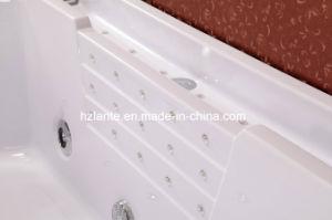Bañera para dos personas aprobada del BALNEARIO del masaje del Ce (TLP-677)