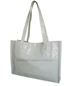 Bolso de compras de cuero promocional del PVC Recyle