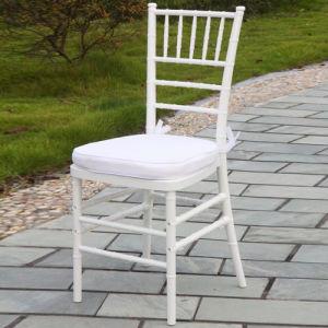 Chaise blanche de chiavari de r sine en plastique chaise blanche de chiavari - Chaise resine blanche ...