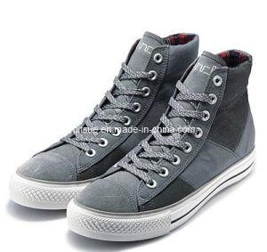 Printed macio Canvas Shoe para Men (WM2013CH010)