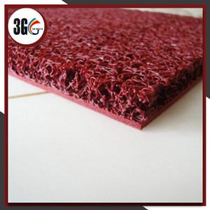 bon prix 3G et couvre-tapis chaud de coussin de PVC de ventes (3G-3) avec le support de mousse