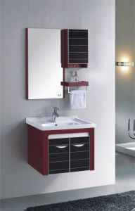 PVC浴室の虚栄心のキャビネットSanitaryware (315)