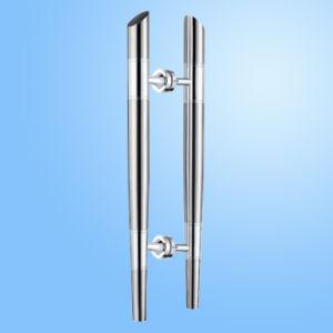 Fechamento de vidro do punho de porta do aço inoxidável (FS-1806)