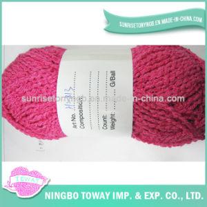 Filé de fantaisie de tricotage de tissage de coton de polyester léger d'apparence - 6