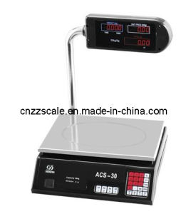 30kg 24keys Electronic Scale with Pole