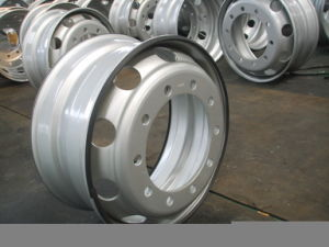 新しいチューブレス鋼鉄車輪の縁(TUV、ISO、TS16949)