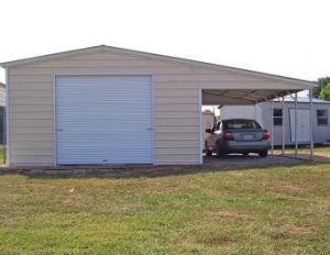 Garage se pliant pr fabriqu de v hicule de structure m tallique de garage moderne mobile de - Garage prefabrique metallique ...
