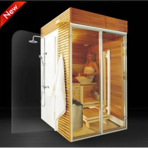 sauna de luxe de vapeur de nouvelle conception petit pi ce la maison de sauna sr1k003. Black Bedroom Furniture Sets. Home Design Ideas