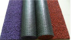 Couvre-tapis de véhicule de bobine de PVC avec le support de Spike&Nail