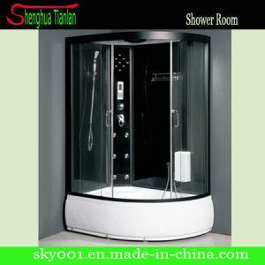 pi ce de douche ronde acrylique faisante le coin multifonctionnelle noire de vapeur tl 8821. Black Bedroom Furniture Sets. Home Design Ideas