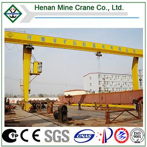Kuangyuan Famous Brand Electric Hoist Gantry Crane (L modelo)
