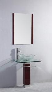 Moderno lavabo de vidrio transparente tb017 moderno for Lavabo vidrio