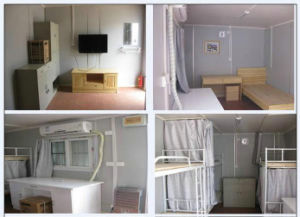 Prefab modular container house business combination para o Immeuble container