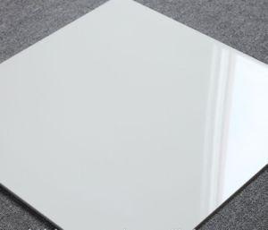 Carreaux de porcelaine poli blanc ultra-blanc 60X60cm standard avec Ce approuvé (E36100A)