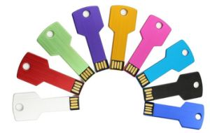 USB Flash Drive de metal caliente llave USB Drive Memory Stick Pen Drive USB 2.0 de memoria flash U disco