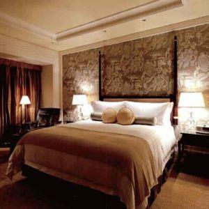 Meubles de chambre à coucher d'affaires commerciales de placage de Walunt (SKB22)