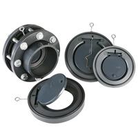 PVC Wafer Vérifiez DIN Valve standard