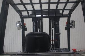 Diesel van het Instelmechanisme van de Vork van de Capaciteit 9000kg van de Reeks van U van de V.N. Automatische Op zwaar werk berekende 9.0t Opheffende Vorkheftruck