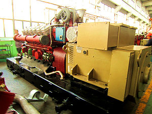 Avespeed Series Coke Oven Gas or Synthetical Gas Generator Set/Genset