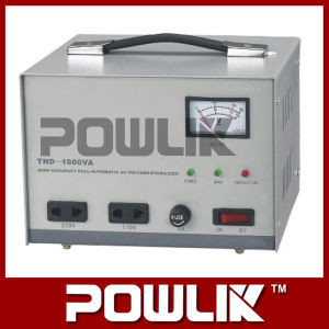 Regulador Full-Automatic da tensão AC de exatidão elevada de fase monofásica (TND-1000VA)
